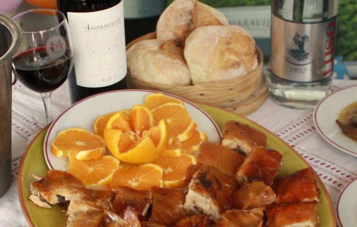 4 Maravilhas da Mesa da Mealhada - água | pão | vinho | leitão