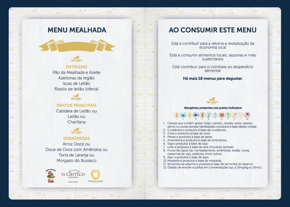Menu Taste Coimbra