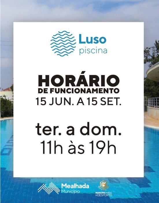 Piscinas Municipais de Luso - Horário