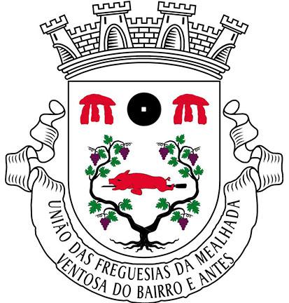 Brasão União de Freguesias de Mealhada, Ventosa do Bairro e Antes