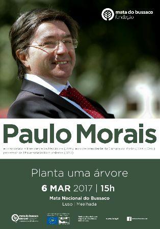 Paulo Morais planta árvore no Bussaco