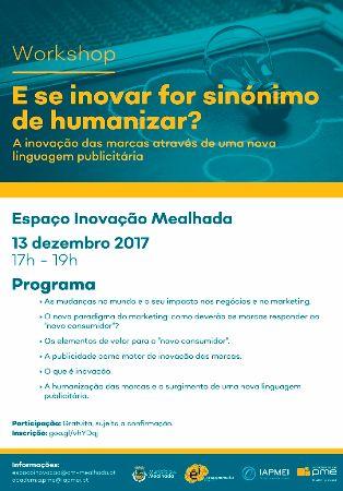 Workshop - E se inovar for sin�nimo de humanizar?