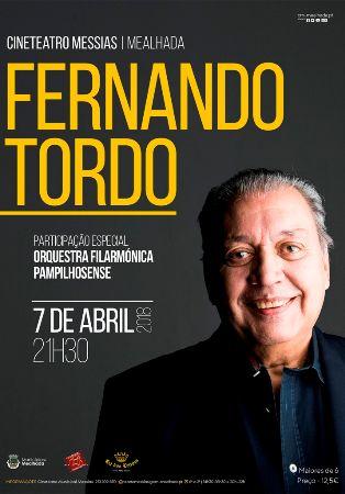 Fernando Tordo com Filarmónica Pampilhosense