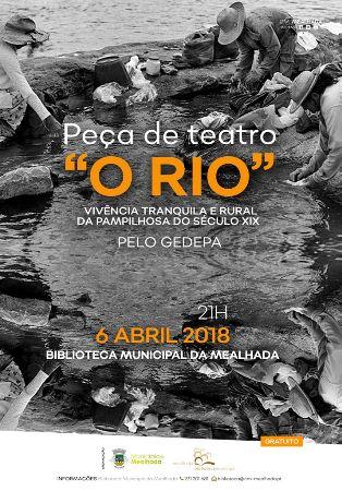"""Serão na Biblioteca """"O Rio"""""""