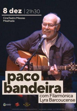 Paco Bandeira com Lyra Barcoucense
