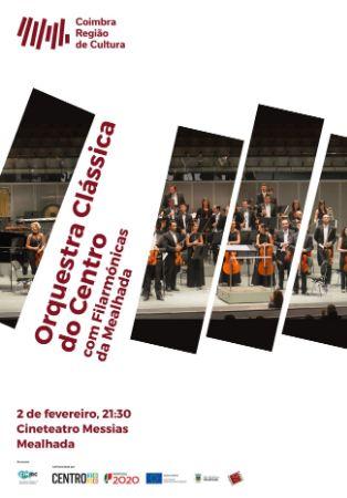 Orquestra Clássica do Centro com filarmónicas da Mealhada