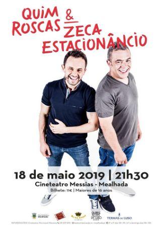 Stand-up com Quim Roscas & Zeca Estacion�ncio