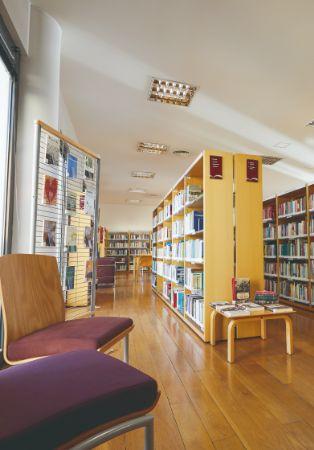 Agosto na biblioteca