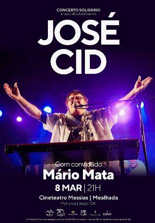 José Cid com Mário Mata - Concerto Solidário