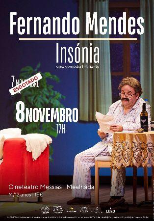 Fernando Mendes (Ins�nia) - Teatro Com�dia