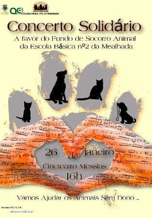 Vamos ajudar os nossos animais 2020 - Concerto Solidário