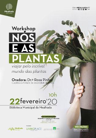 """Workshop """"Nós e as plantas"""""""