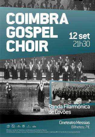 Banda Filarm�nica de Cov�es com Coimbra Gospel Choir