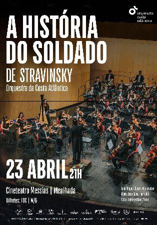 """Igor Stravinsky – """"A Hist�ria do Soldado"""""""