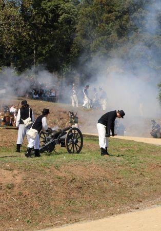 Recria��o hist�rica da Batalha do Bussaco