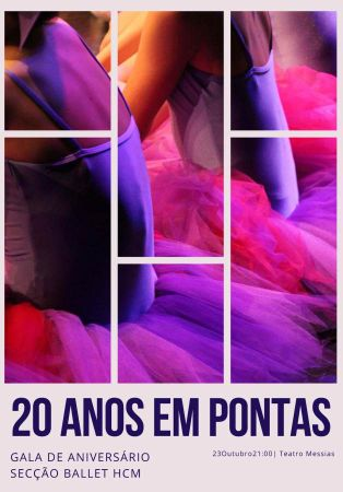 Academia de Dan�a HCM - 20 anos em Pontas