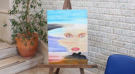 Câmara da Mealhada exibe exposição de pintura de Diamantino Silva