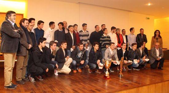 Mealhada homenageou Seleções Nacionais de Hóquei em Patins Sub17 e Sub20