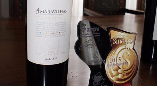Novo vinho tinto 4 Maravilhas em promoção até dia 5 de janeiro