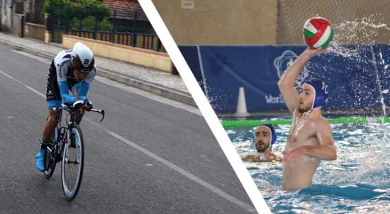 Mealhada vive desporto: Finais de Pólo Aquático e 3ª Volta à Bairrada em bicicleta
