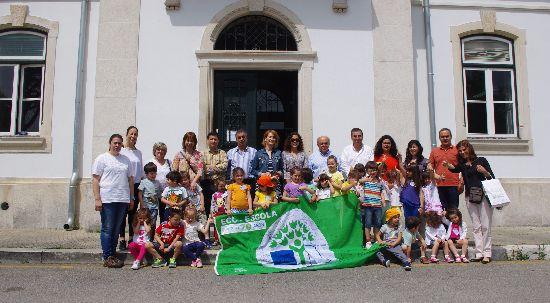 Rota Eco-Escolas terminou na Mealhada com apadrinhamento da atriz Alda Gomes