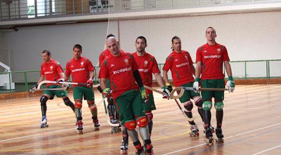 Seleção Portuguesa de Hóquei em Patins em estágio no Luso na preparação para Europeu
