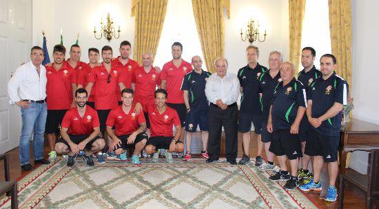 Seleção Portuguesa de Hóquei em Patins recebida na Câmara Municipal da Mealhada