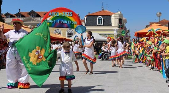 Marchas e arraial popular animam o centro da cidade dia 30 de junho
