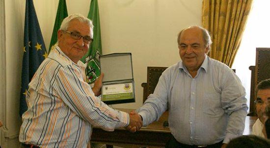 Equipa de Futebol do Arouca foi recebida na Câmara da Mealhada