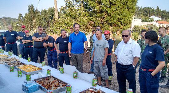 Câmara da Mealhada agradece apoio no combate aos incêndios