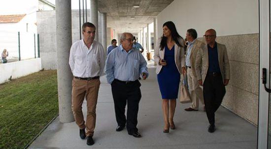 Delegada Regional da Educação visitou edifícios escolares da Mealhada