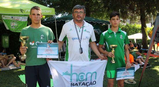 Atleta do Hóquei Clube da Mealhada sagrou-se campeão nacional de natação