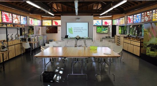 Centro de Interpretação Ambiental com oficinas