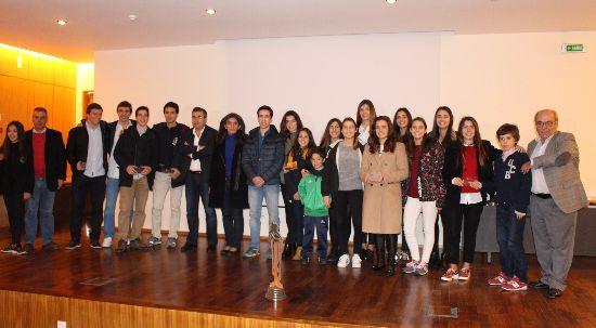 Câmara da Mealhada prestou homenagem às seleções de hóquei em patins e atletas de patinagem