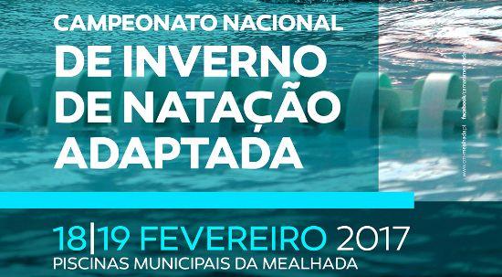Mealhada recebe elite da natação adaptada