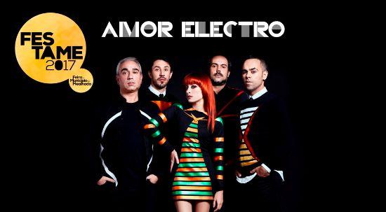 Amor Electro atuam na Festame dia 17 de junho