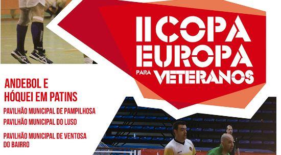 Copa Europa para veteranos em andebol e hóquei em patins é já no próximo fim de semana