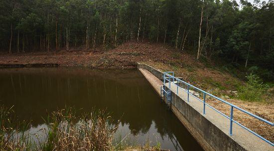 Represa de Santa Cristina apta a apoio de meio aéreos no combate a incêndios