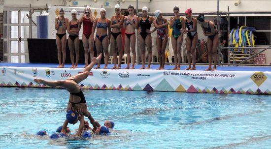 Piscinas da Mealhada recebem a mais alta competição de natação sincronizada
