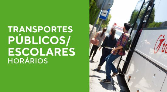 Transportes públicos/ Escolares - Horários