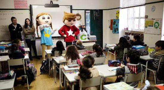 Gaspar e Inês voltaram à Mealhada para incentivarem o empreendedorismo nas escolas do município