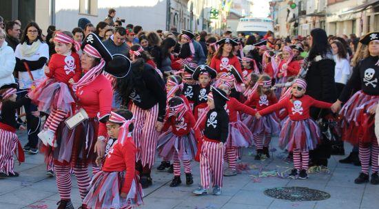 Mealhada invadida pelo Carnaval de Palmo e Meio