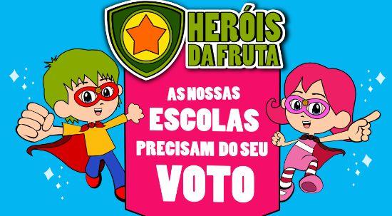 Hino da escola básica de Casal Comba precisa de votos para ganhar Heróis da Fruta