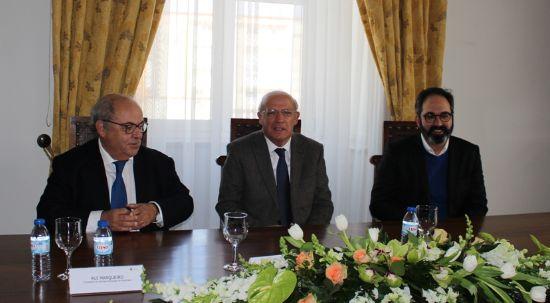 Ministro dos Negócios Estrangeiros inteirou-se das dificuldades inerentes à limpeza florestal