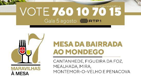 """Vote na nossa Mesa """"Da Bairrada ao Mondego"""""""