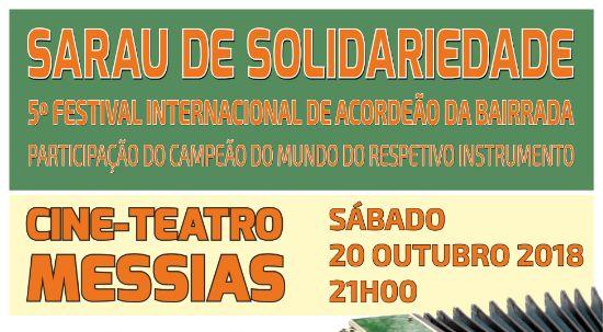 Sarau de Solidariedade - 5.º Festival Internacional do Acordeão