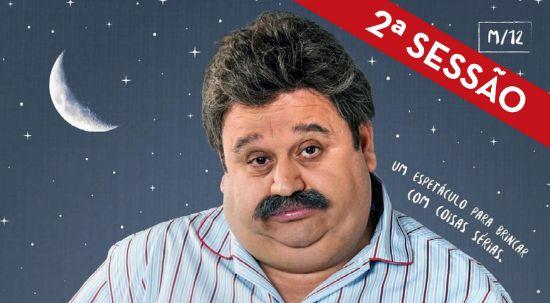 """Bilhetes esgotados para """"Insónia"""" obrigam a 2ª sessão de teatro com Fernando Mendes"""
