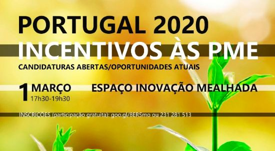 Workshop - Portugal 2020 - Incentivos às PME