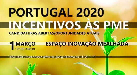 Workshop - Portugal 2020 - Incentivos às PME