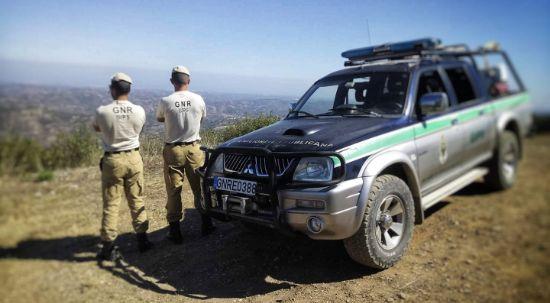 GNR desenvolve ações de fiscalização de limpeza de terrenos no Luso e na Vacariça